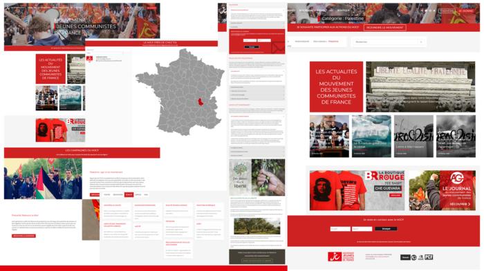 Conception de site web communication à portée nationale & internationale.
