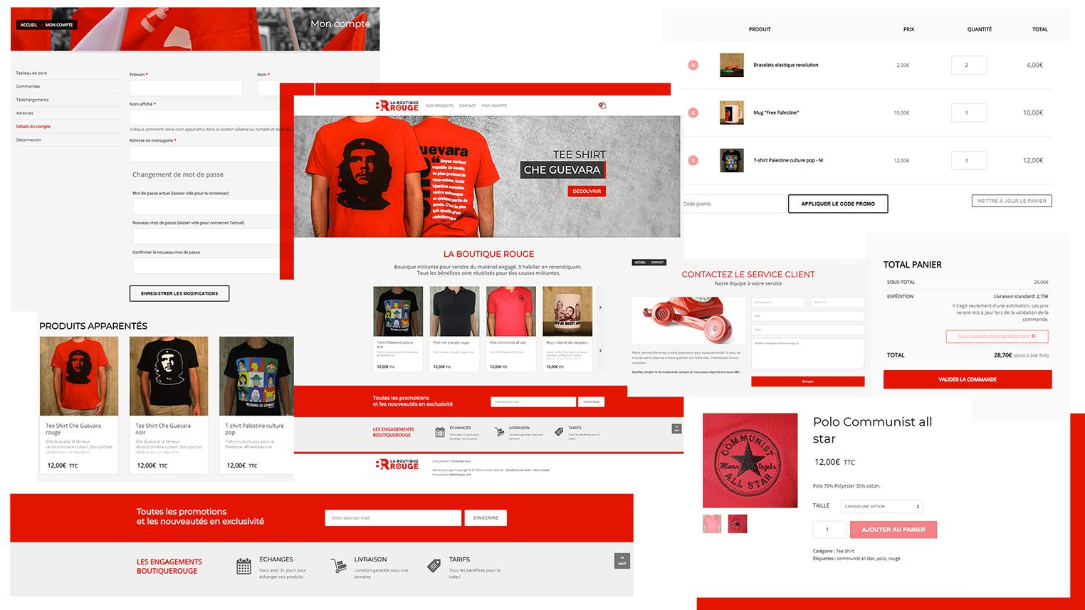 E-Création de Sites E-Commerce et Boutique en ligne